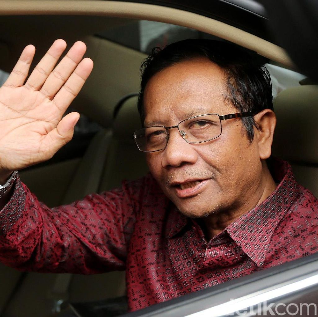 Prabowo Bicara Chief of Law Enforcement Officer, Mahfud: Isu Setiap Pilpres