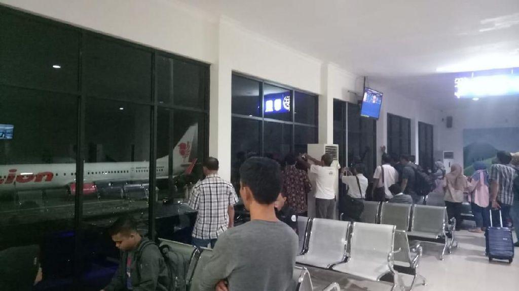 Kesaksian Penumpang Batik soal Lion Air Senggol Tiang di Bandara