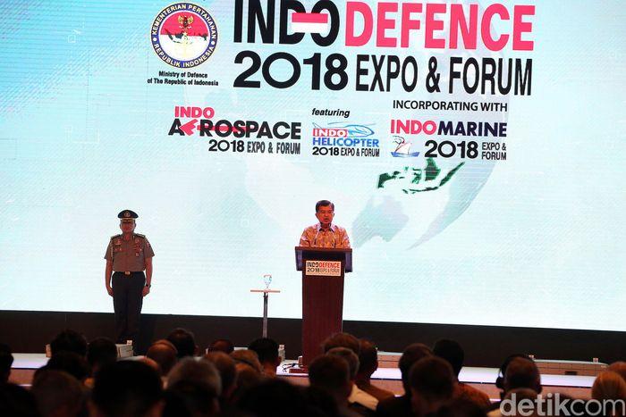 JK mengatakan, acara ini akan memberikan banyak manfaat khususnya untuk pengembangan industri pertahanan nasional.