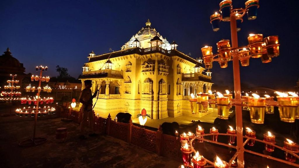 Ups! Presiden Donald Trump Sebut Diwali Festival Buddha