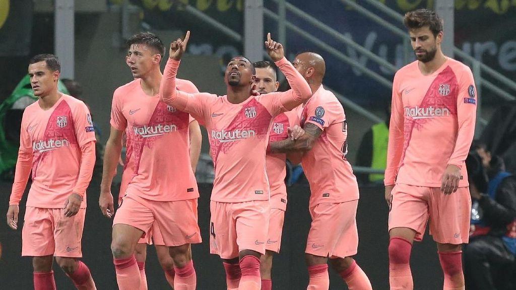 6 Data dan Fakta dari Hasil Imbang Barca dan Inter Milan