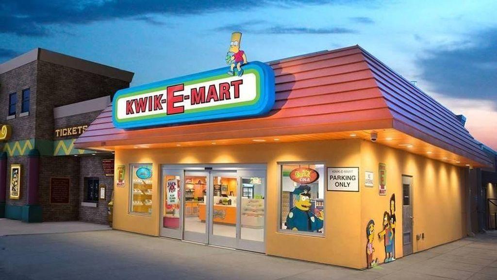 Minimarket dalam The Simpsons Ada di Dunia Nyata
