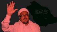 6 Kali Habib Rizieq Dikabarkan Mau Pulang