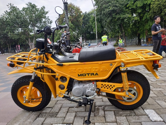 Honda Motra, Motor Mungil Berbodi Truk