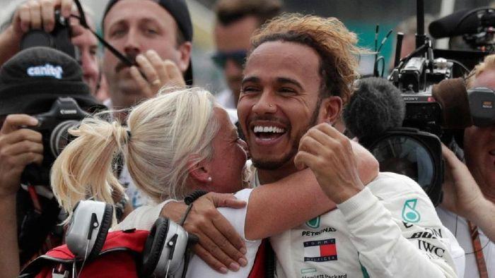 Lewis Hamilton ingin samai tujuh gelar juara dunia Michael Schumacher (REUTERS/Henry Romero)