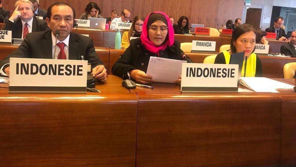 Di Forum ILO, Kemnaker Dorong Dialog Sosial Serikat Pekerja