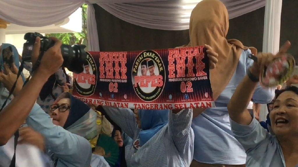 Launching Partai Emak-emak, Rachmawati: Ini Kekuatan Dahsyat!