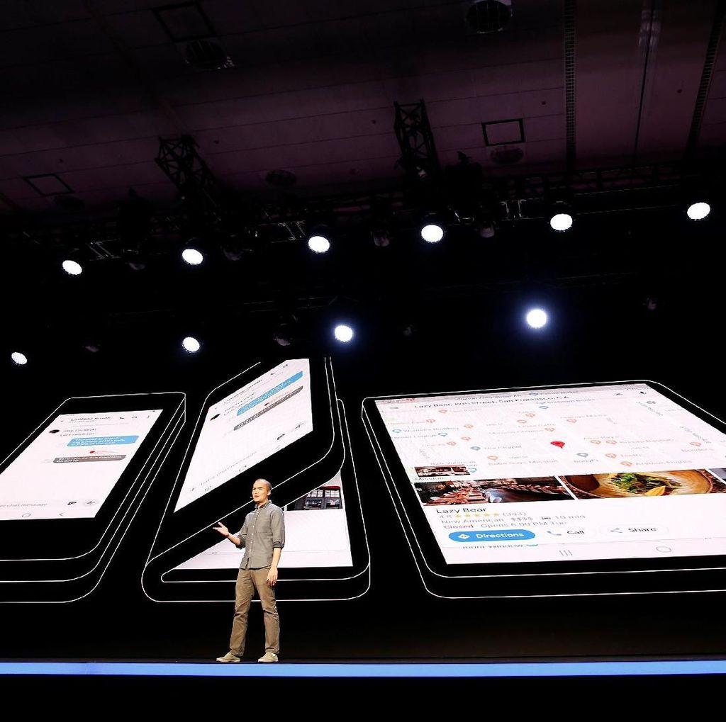 Bocoran Harga Ponsel Layar Lipat Samsung