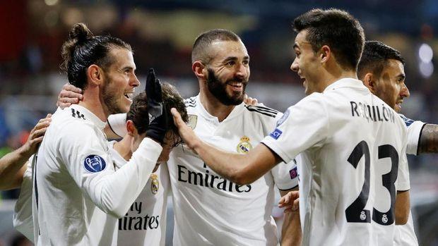 Benzema dan bale tak mampu mengangkat pamor Madrid.