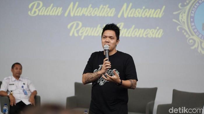 Reza Nangin mengaku pernah kecanduan narkoba (Foto: Annissa Widya Davita/detikHealth)