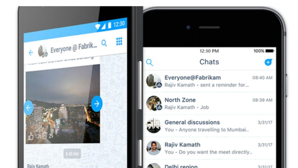 Apa Alasan Microsoft Bikin Aplikasi Pesaing WhatsApp?