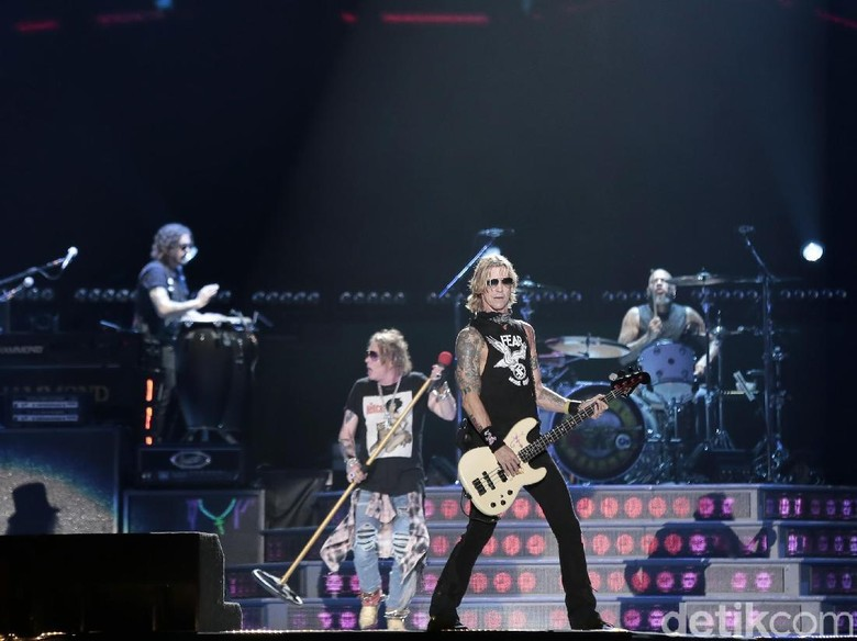 5 Fakta November Rain, Lagu Legendaris Guns N Roses Foto: Asep Syaifullah
