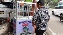 Video: Semangat Berbagi via Etalase Nasi Bungkus Gratis di Bandung