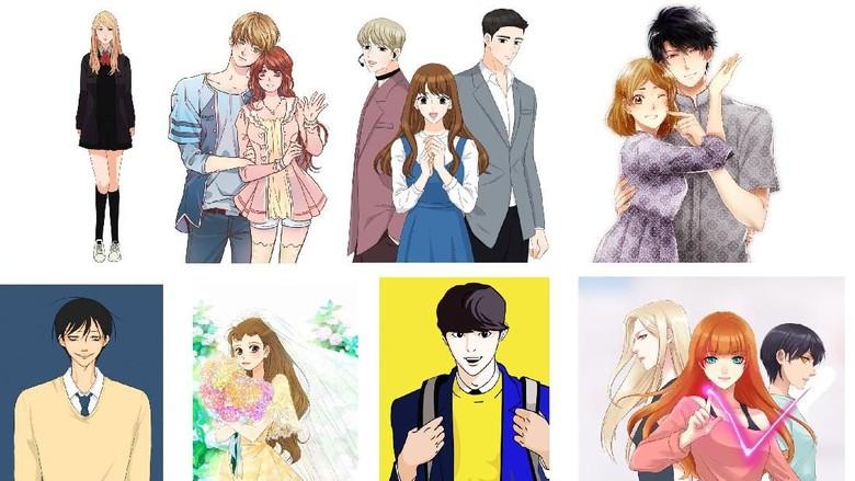 4 Webtoonist Korea dan Lokal Bakal Sapa Pembaca Jakarta Foto: Istimewa/ line webtoon