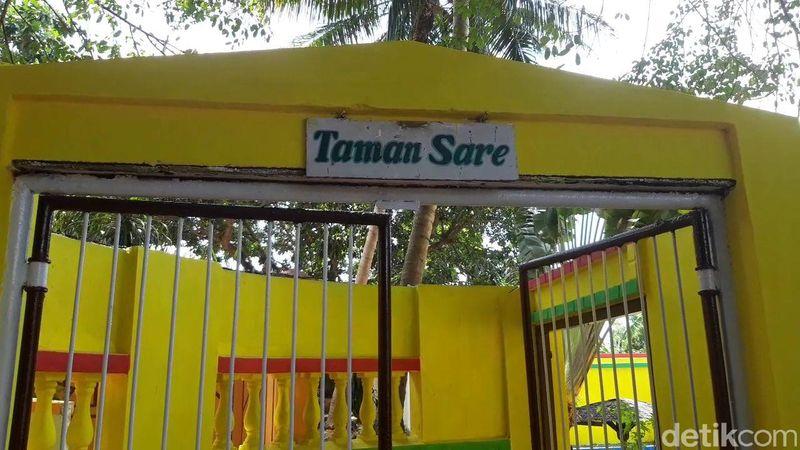 Inilah destinasi wisata Taman Sare (Hilda Meilisa Rinanda/detikTravel)