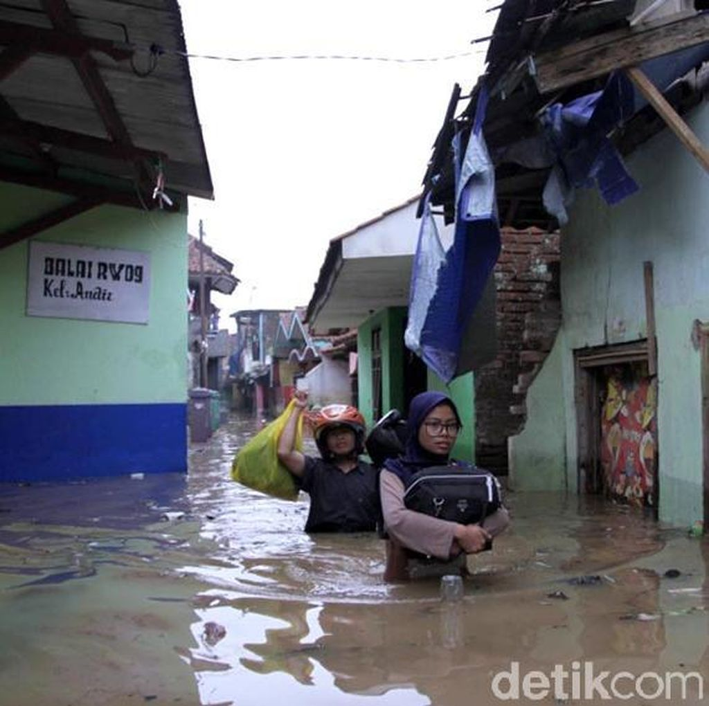7 Orang Tewas Akibat Bencana Alam di Jabar Selama November
