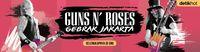 'Paradise City' Tutup Konser Guns N Roses di Jakarta