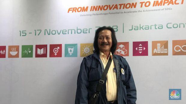 Direktur Indofood, Franky Welirang (CNBC Indonesia/Lynda Hasibuan)