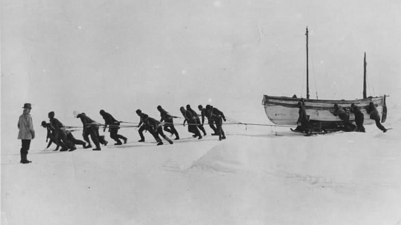 Foto: Ekspedisi ke Antartika oleh Ernest Shackleton (Getty/CNN Travel)
