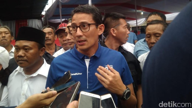 Gerindra: Sandi Kami Wakafkan agar PAN-PKS-PD Kursinya Banyak