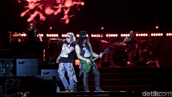 7 Fakta Menarik Konser Guns N Roses di Jakarta