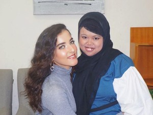 Setelah Nagita, Youtuber Rahmawati Kekeyi Nangis Bertemu Tasya Farasya