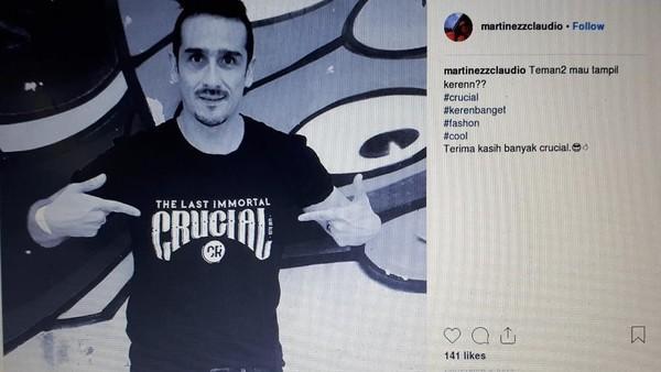 Claudio Martinez Ditangkap Kemarin Malam di Depok