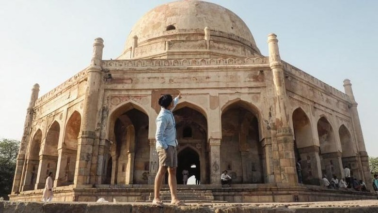 New Delhi di India (Asri Vernon/dTraveler)