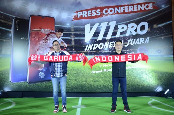 Tantangan Vivo ke netizen untuk berlomba memberi dukungan ke Timnas Indonesia di Piala AFF 2018 (Foto: Dok Vivo)