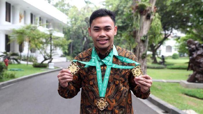 Eko Yuli Irawan masih buta angkatan di Olimpiade 2020 (Dok. Humas Kemenpora)
