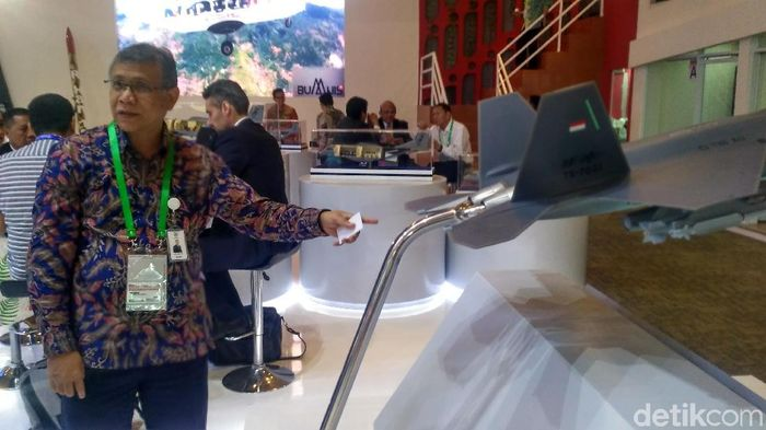 Foto: jet tempur KFX/IFX (Achmad Dwi Afriyadi-detikFinance)