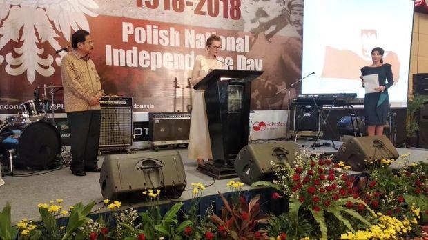 Kedubes Polandia Gelar Peringatan 100 Tahun Kemerdekaan