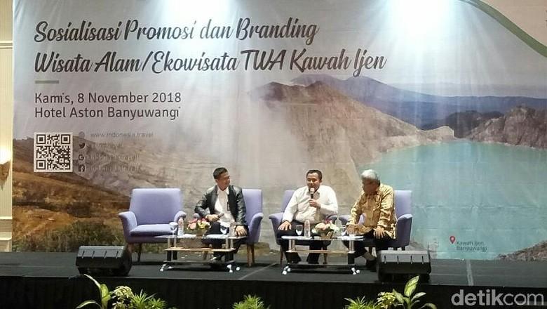 Foto: FGD pengembangan TWA Kawah Ijen (Ardian/detikTravel)