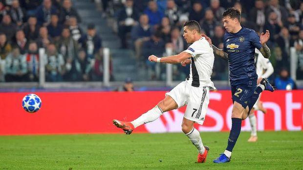 Cristiano Ronaldo sempat membawa Juventus unggul.