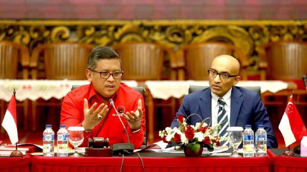 PDIP Bertemu dengan Delegasi Calon Pemimpin Singapura
