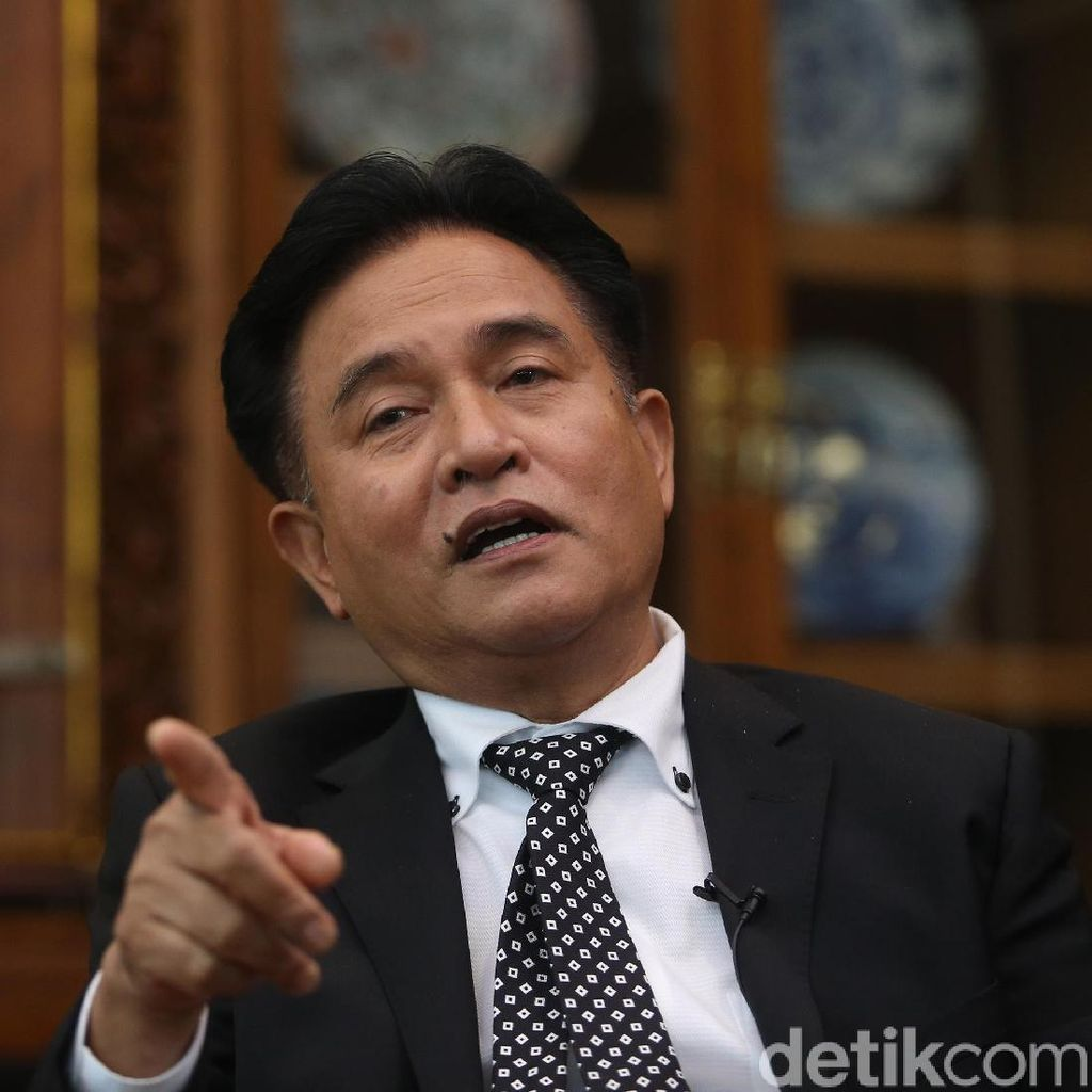 MS Kaban Minta PBB Dukung Prabowo, Yusril: Bukan Rekomendasi tapi Nasihat