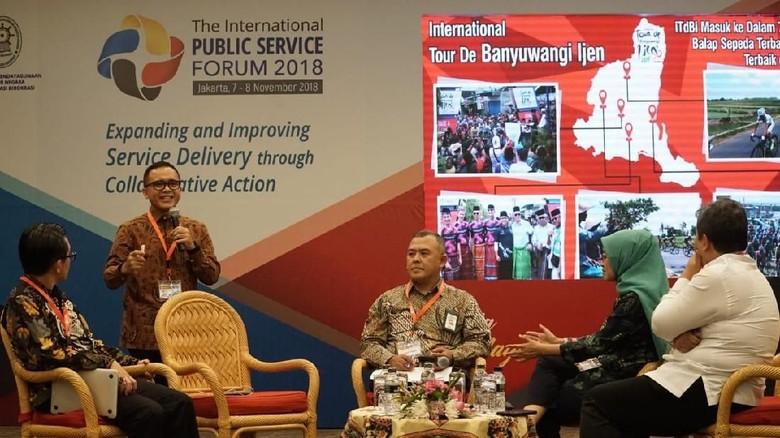 Pelayanan Publik di Banyuwangi Jadi Bahasan Utama IPSF 2018