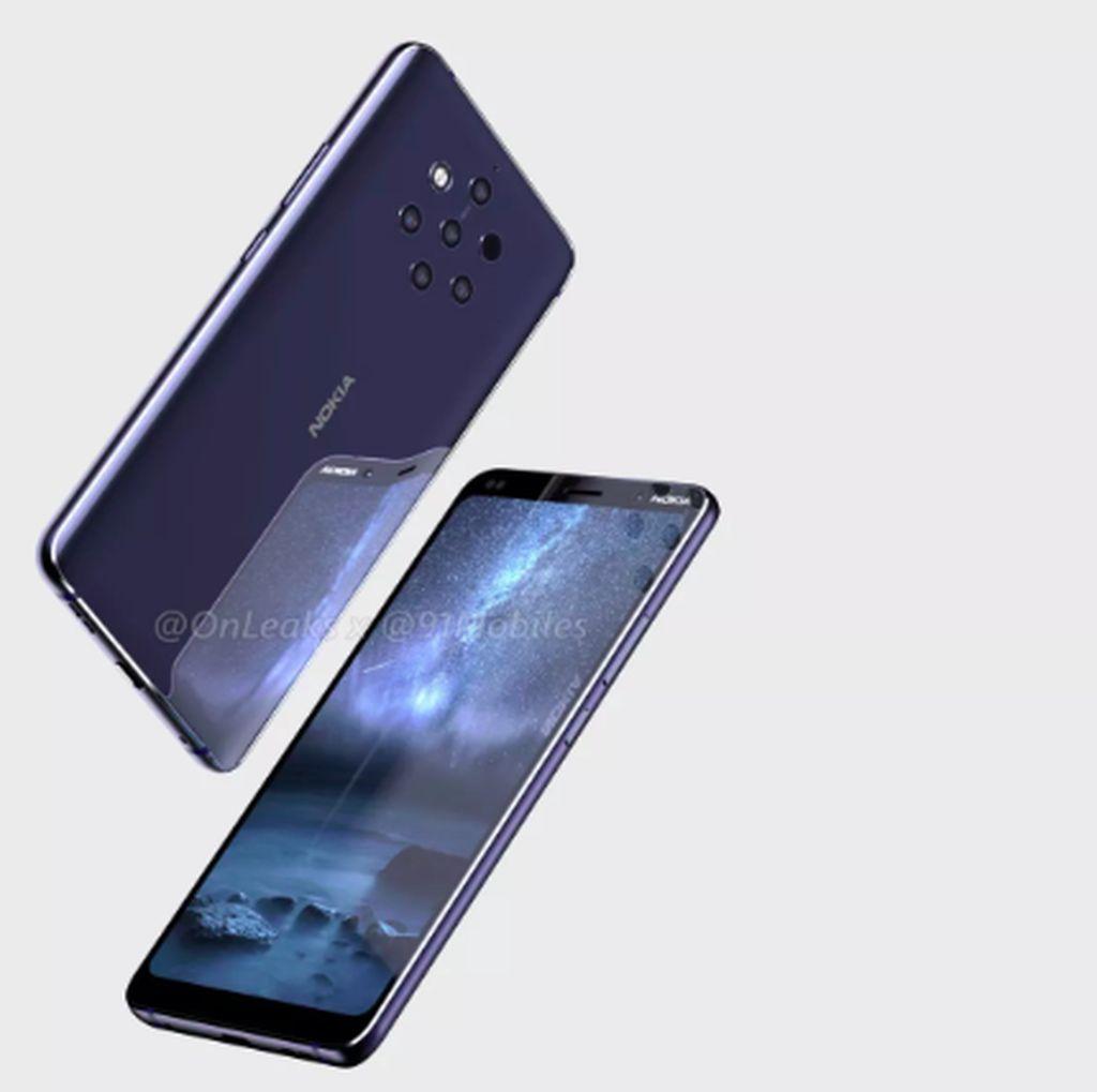 Nokia 9 Pakai 5 Kamera Belakang Segera Meluncur?