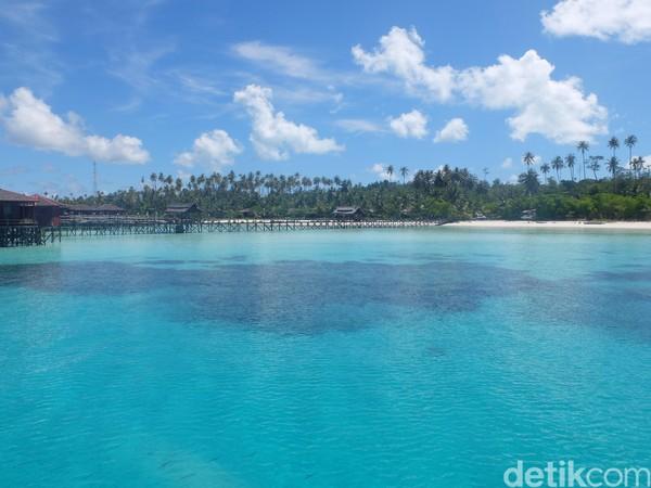 Setelah itu jangan lupa mampir ke Maratua yang sering disebut Maldivesnya Indonesia, ya. (Afif Farhan/detikTravel)