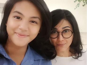 Tamara Geraldinedan putrinya mirip ya, Bun? (Foto: Instagram @tamarageraldine74)