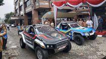 Mobil Listrik Reli Dakar Buatan Mahasiswa Tiba di Jakarta