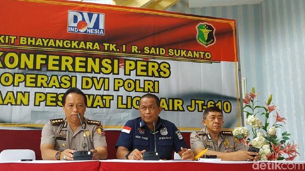 Total 194 Kantong Jenazah Penumpang Lion Air Diterima RS Polri