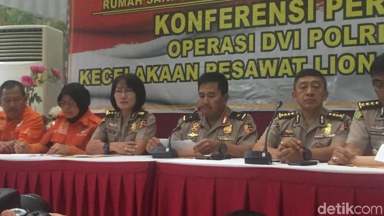 6 Korban Lion Air Kembali Teridentifikasi, Salah Satunya Bayi