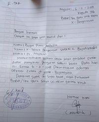 Contoh Surat Izin Sekolah Karena Banjir