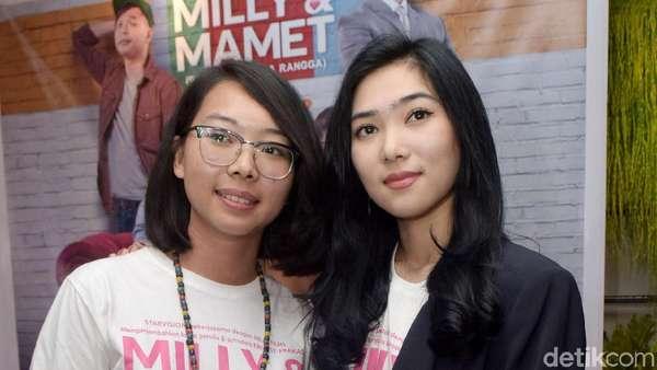 Akhirnya Isyana dan Rara Sekar Kolaborasi di Milly & Mamet