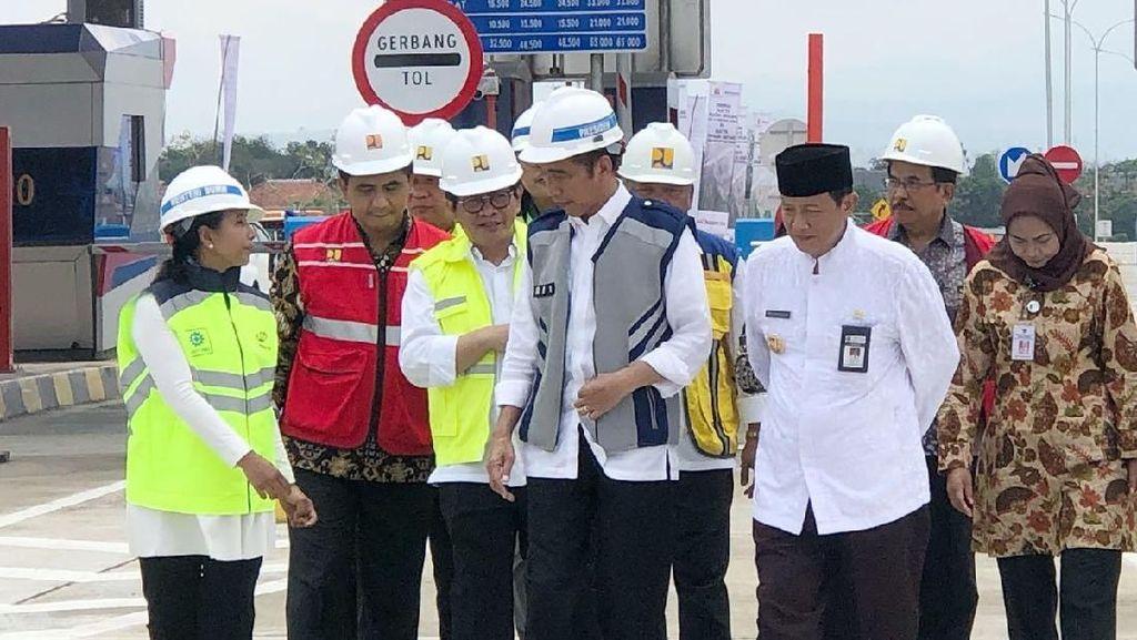 Usai Tol Pejagan-Pemalang, Jokowi Resmikan Dua Tol Ini
