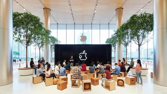 Ilustrasi Apple Store. Foto: Apple