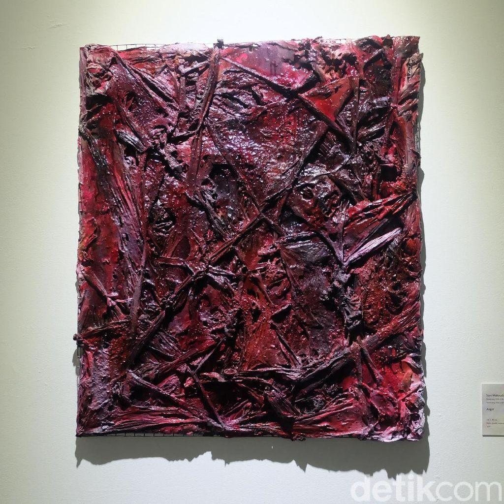 Lukisan Suvi Wahyudianto akan Dipajang di S.E.A Focus Singapura