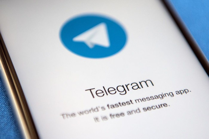 LONDON, ENGLAND - MAY 25:  A close-up view of the Telegram messaging app is seen on a smart phone on May 25, 2017 in London, England. Telegram, an encrypted messaging app, has been used as a secure communications tool by Islamic State. (Photo by Carl Court/Getty Images)