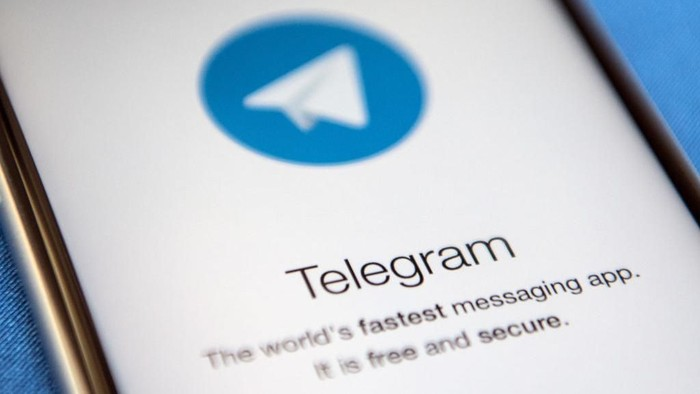 Aplikasi Telegram. Foto: Carl Court/Getty Images